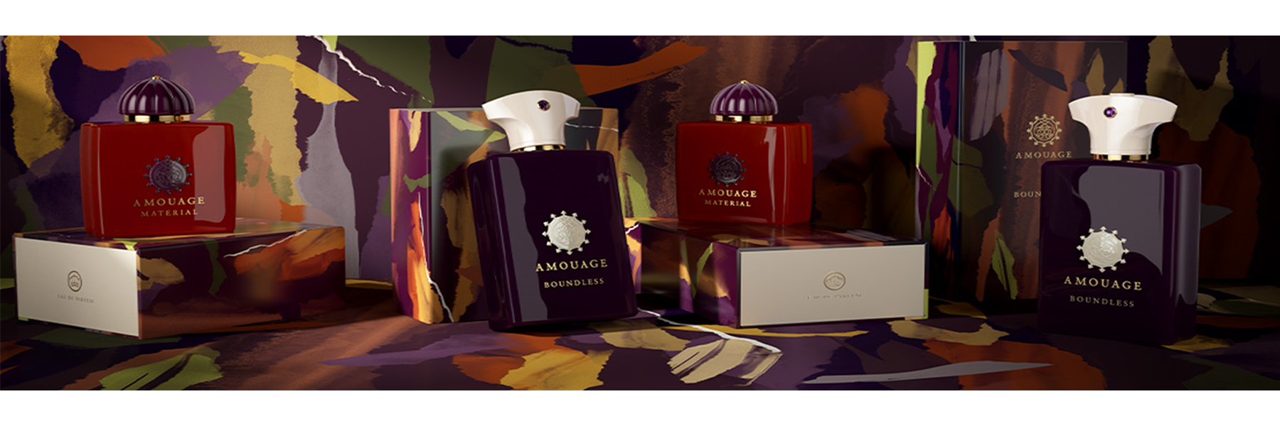 Amouage | Material & Boundless