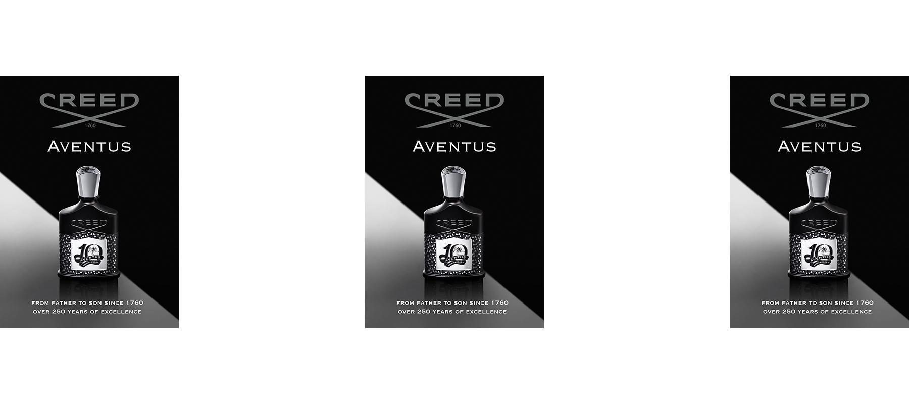 Creed Aventus 10th anniversary